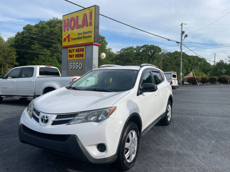 2015 Toyota RAV4 for sale at No Full Coverage Auto Sales in Austell GA