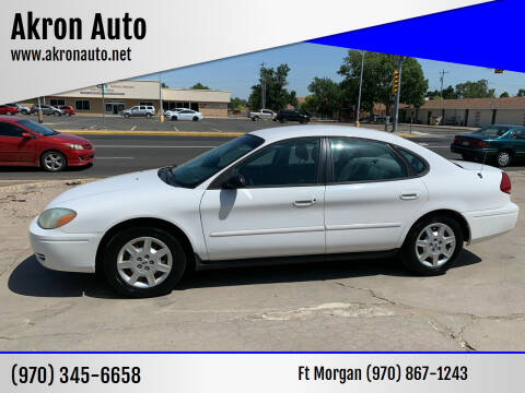 2004 Ford Taurus for sale at Akron Auto - Fort Morgan in Fort Morgan CO
