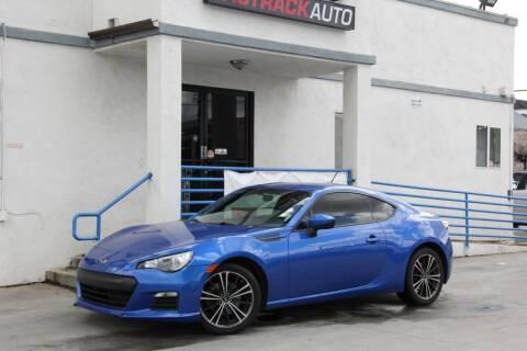 2013 Subaru BRZ for sale at Fastrack Auto Inc in Rosemead CA