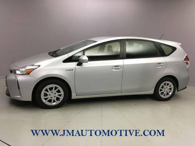 2015 Toyota Prius v for sale at J & M Automotive in Naugatuck CT