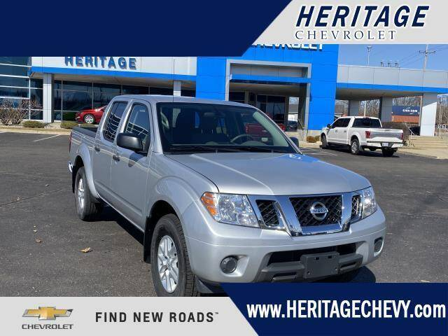 2019 Nissan Frontier for sale at HERITAGE CHEVROLET INC in Creek MI