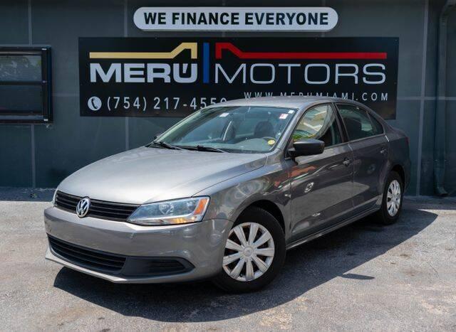 2011 Volkswagen Jetta for sale at Meru Motors in Hollywood FL