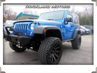 2016 Jeep Wrangler for sale at Rockland Automall - Rockland Motors in West Nyack NY
