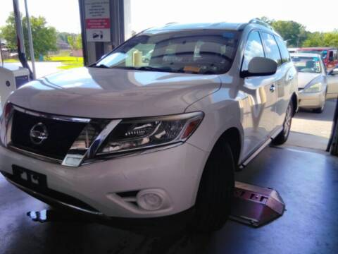 2013 Nissan Pathfinder for sale at HW Auto Wholesale in Norfolk VA