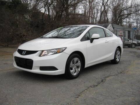 2013 Honda Civic for sale at Jareks Auto Sales in Lowell MA