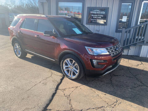 2016 Ford Explorer for sale at Rutledge Auto Group in Palestine TX