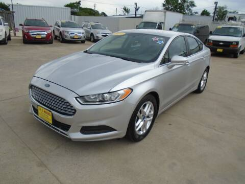 2013 Ford Fusion for sale at BAS MOTORS in Houston TX
