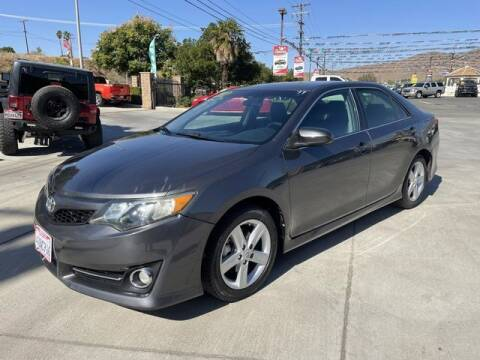 2012 Toyota Camry for sale at Los Compadres Auto Sales in Riverside CA