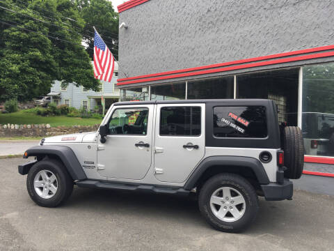 2012 Jeep Wrangler Unlimited for sale at Street Dreams Auto Inc. in Highland Falls NY