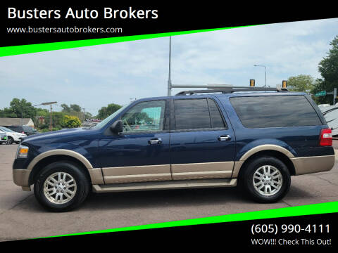 2013 Ford Expedition EL for sale at Busters Auto Brokers in Mitchell SD