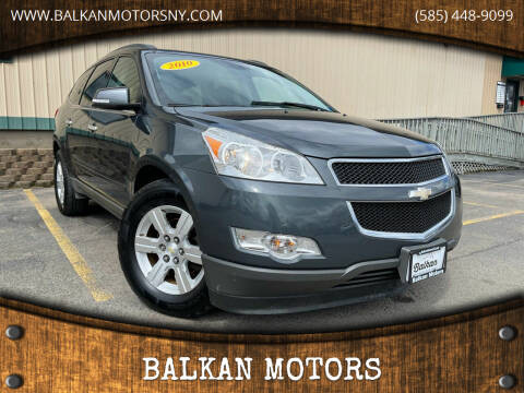 2010 Chevrolet Traverse for sale at BALKAN MOTORS in East Rochester NY
