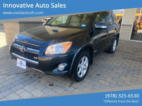 2010 Toyota RAV4 for sale at Innovative Auto Sales in North Hampton NH