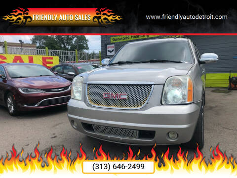 2007 GMC Yukon XL for sale at Friendly Auto Sales in Detroit MI
