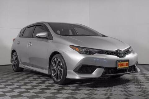 2017 Toyota Corolla iM for sale at Chevrolet Buick GMC of Puyallup in Puyallup WA