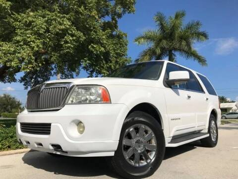 2003 Lincoln Navigator for sale at DS Motors in Boca Raton FL