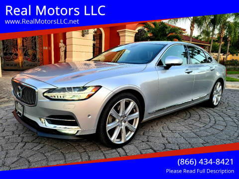 2018 Volvo S90 for sale at Real Motors LLC in Clearwater FL