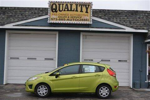 2011 Ford Fiesta for sale at Quality Pre-Owned Automotive in Cuba MO