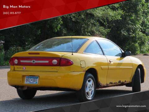 2003 Chevrolet Cavalier for sale at Big Man Motors in Farmington MN