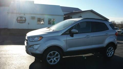 2018 Ford EcoSport for sale at B & B Sales 1 in Decorah IA