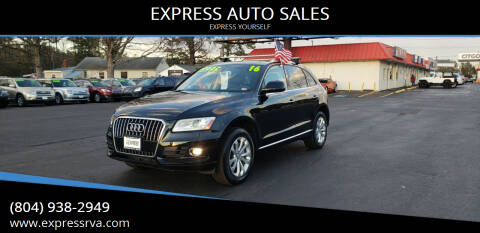 2016 Audi Q5 for sale at EXPRESS AUTO SALES in Midlothian VA