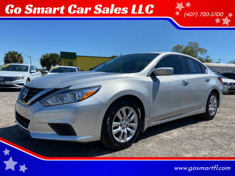 2018 Nissan Altima for sale at Go Smart Car Sales LLC in Winter Garden FL