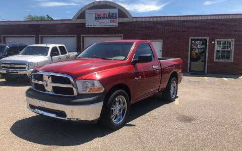 2010 Dodge Ram Pickup 1500 for sale at Family Auto Finance OKC LLC in Oklahoma City OK
