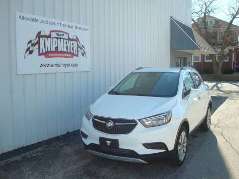 2017 Buick Encore for sale at Team Knipmeyer in Beardstown IL