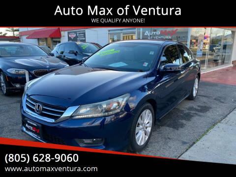2015 Honda Accord for sale at Auto Max of Ventura in Ventura CA