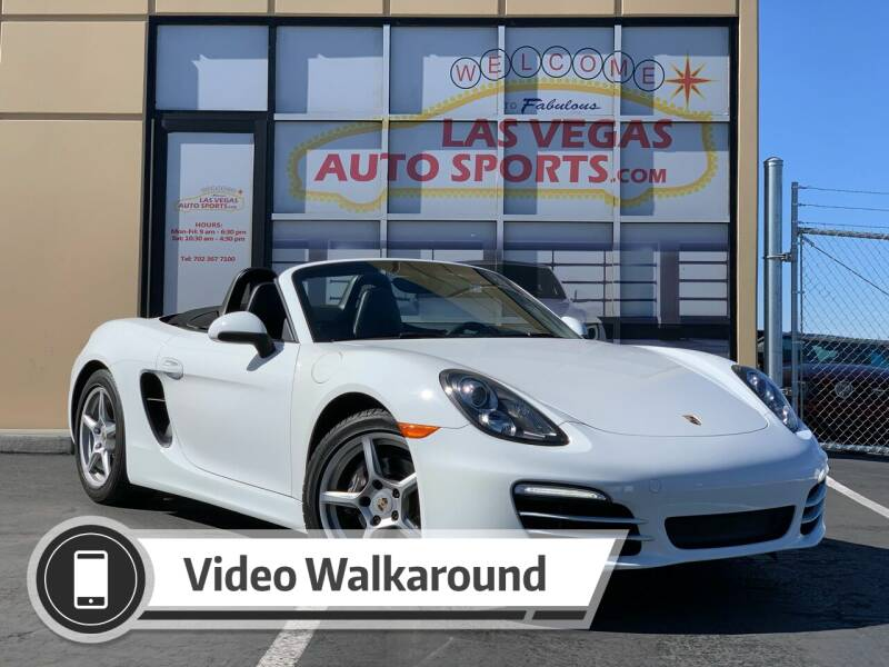 2014 Porsche Boxster for sale at Las Vegas Auto Sports in Las Vegas NV