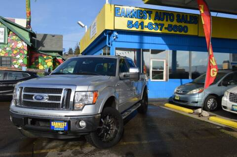 2012 Ford F-150 for sale at Earnest Auto Sales in Roseburg OR