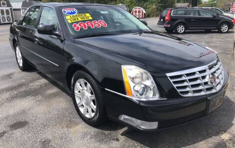 2011 Cadillac DTS for sale at GOLD COAST IMPORT OUTLET in St Simons GA