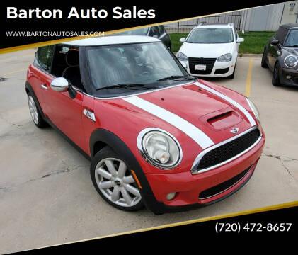 2008 MINI Cooper for sale at Barton Auto Sales in Longmont CO