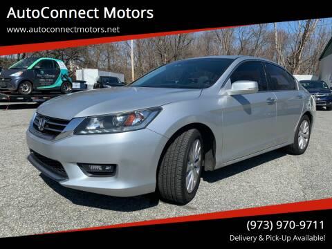 2014 Honda Accord for sale at AutoConnect Motors in Kenvil NJ