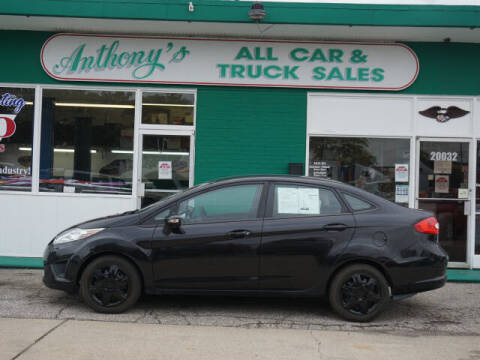 2013 Ford Fiesta for sale at Anthony's All Cars & Truck Sales in Dearborn Heights MI