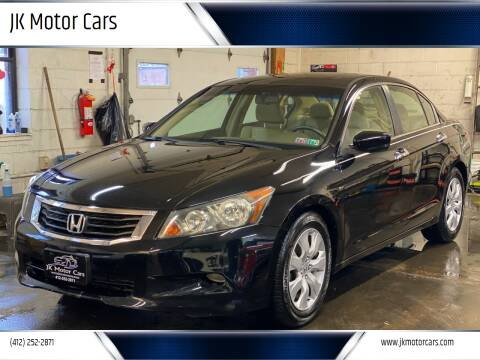 2008 Honda Accord for sale at JK Motor Cars in Pittsburgh PA