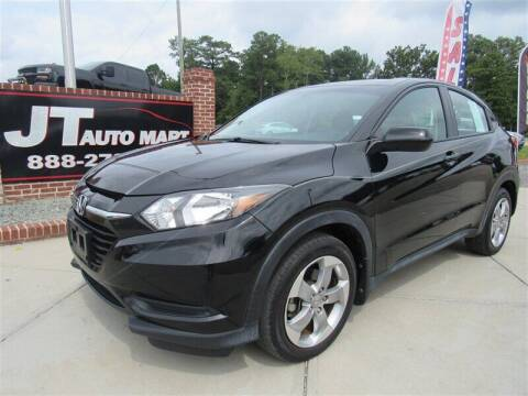 2017 Honda HR-V for sale at J T Auto Group in Sanford NC