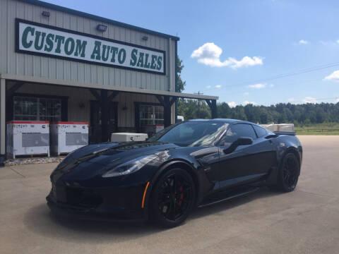2019 Chevrolet Corvette for sale at Custom Auto Sales - AUTOS in Longview TX
