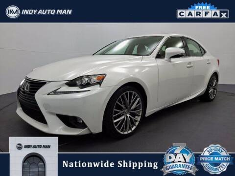 2015 Lexus IS 250 for sale at INDY AUTO MAN in Indianapolis IN