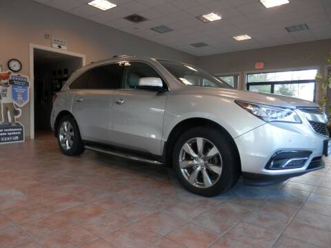 2014 Acura MDX for sale at ABSOLUTE AUTO CENTER in Berlin CT