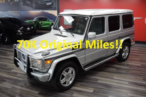 2004 Mercedes-Benz G-Class for sale at Icon Exotics in Houston TX