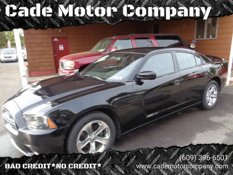 2012 Dodge Charger for sale at Cade Motor Company in Lawrenceville NJ