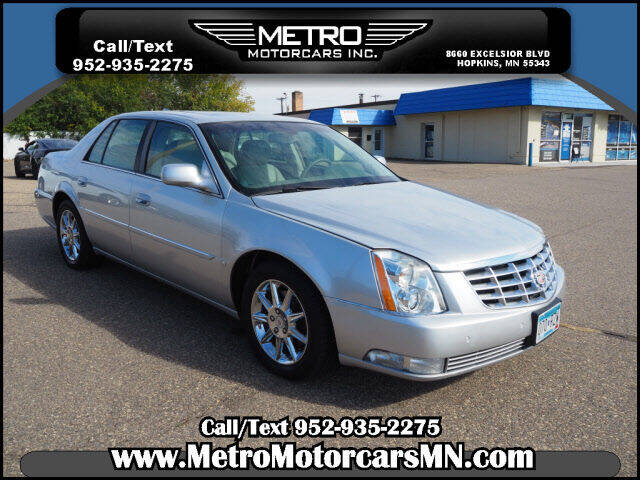2010 Cadillac DTS for sale at Metro Motorcars Inc in Hopkins MN