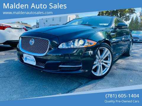 2015 Jaguar XJL for sale at Malden Auto Sales in Malden MA