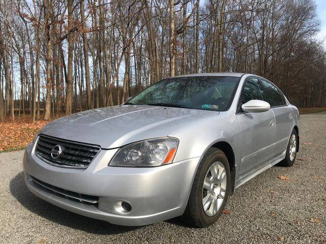2006 Nissan Altima for sale at GOOD USED CARS INC in Ravenna OH
