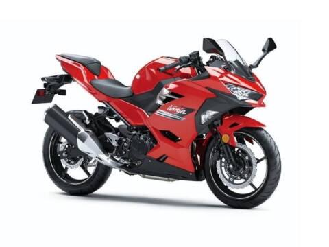 2021 Kawasaki Ninja® 400 Passion Red
