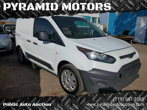 2015 Ford Transit Connect Cargo for sale at PYRAMID MOTORS - Pueblo Lot in Pueblo CO
