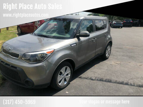 2016 Kia Soul for sale at Right Place Auto Sales in Indianapolis IN