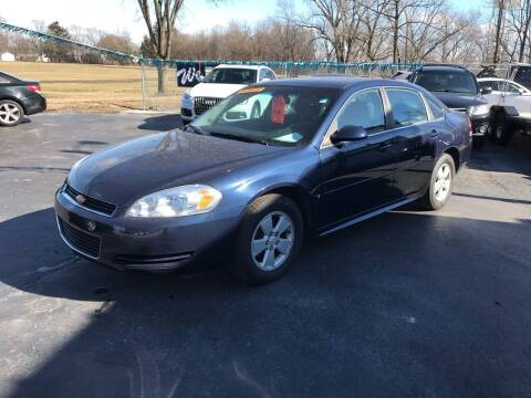 2009 Chevrolet Impala for sale at Ultimate Auto Sales in Crown Point IN