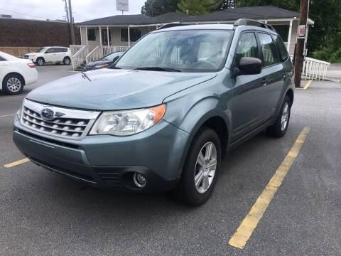 2011 Subaru Forester for sale at Georgia Car Shop in Marietta GA
