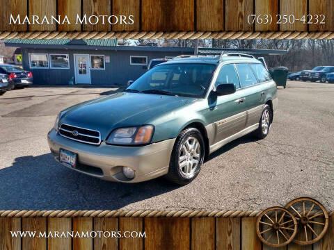 2001 Subaru Outback for sale at Marana Motors in Princeton MN